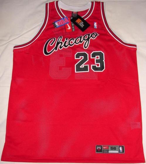 los angeles f0d47 11b82 Michael Jordan Authentic Chicago Bulls Cursive Away Jersey page