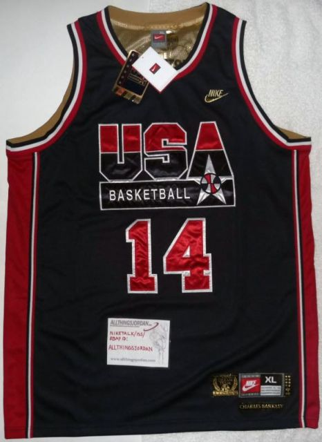 953ea87c99a5 Charles Barkley Authentic DREAM TEAM  92 Olympics Jersey Page