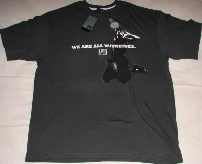 Lebron James Nike tee(We are all Witnesses.) page 6bad8d8693f2